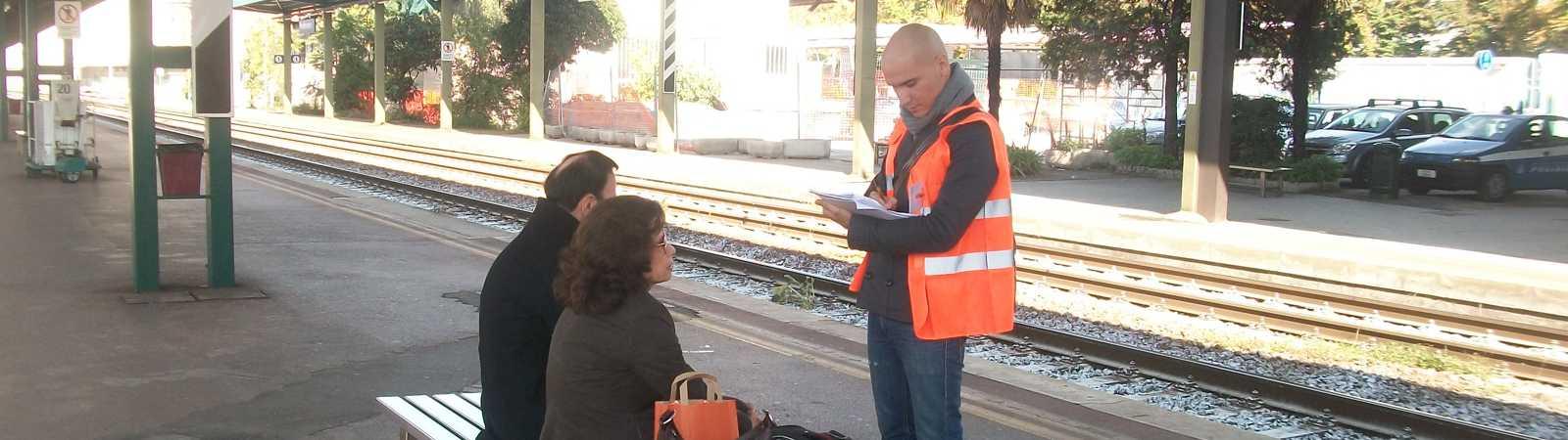 Ricerca intervistatori per indagine di customer satisfaction presso la rete ferroviaria lombarda