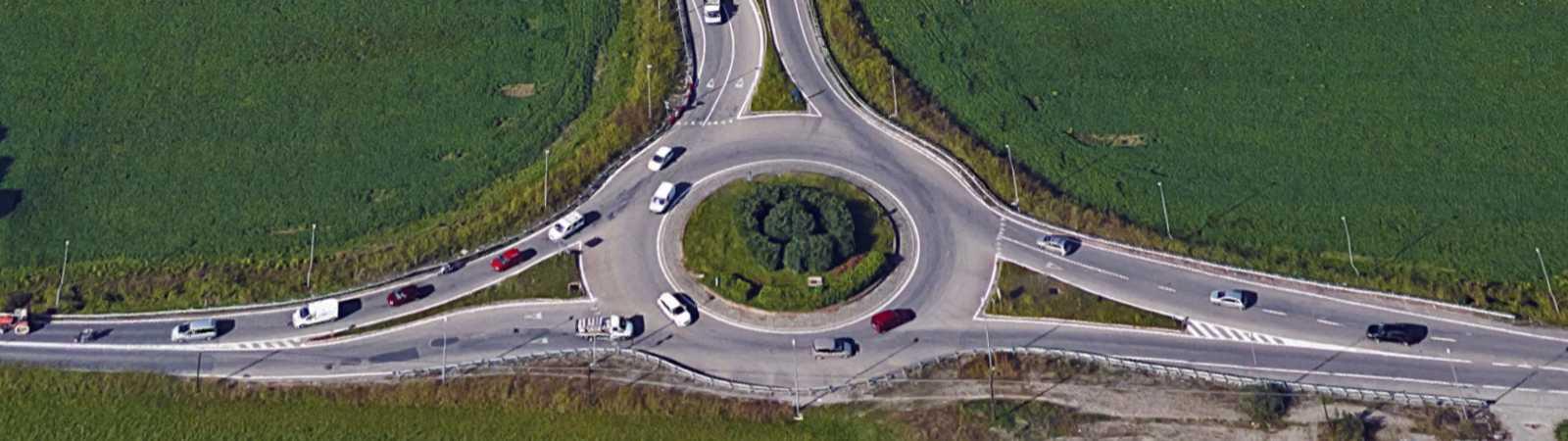 progettazione interventi di moderazione e fluidificazione del traffico