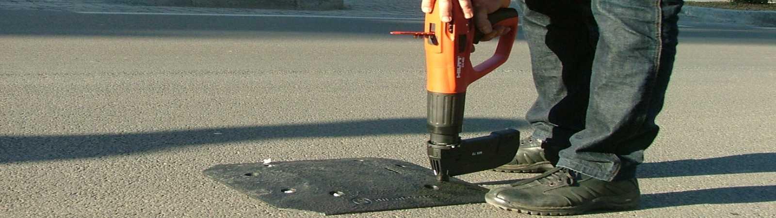 rilievi automatici del traffico stradale e delle velocita'  istantanee a carattere temporaneo con piastre ad induzione magnetica VMI