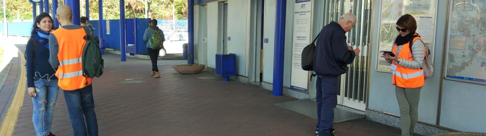 indagini frontali face to face sulla mobilita' e di customer satisfaction per i diversi sistemi di trasporto